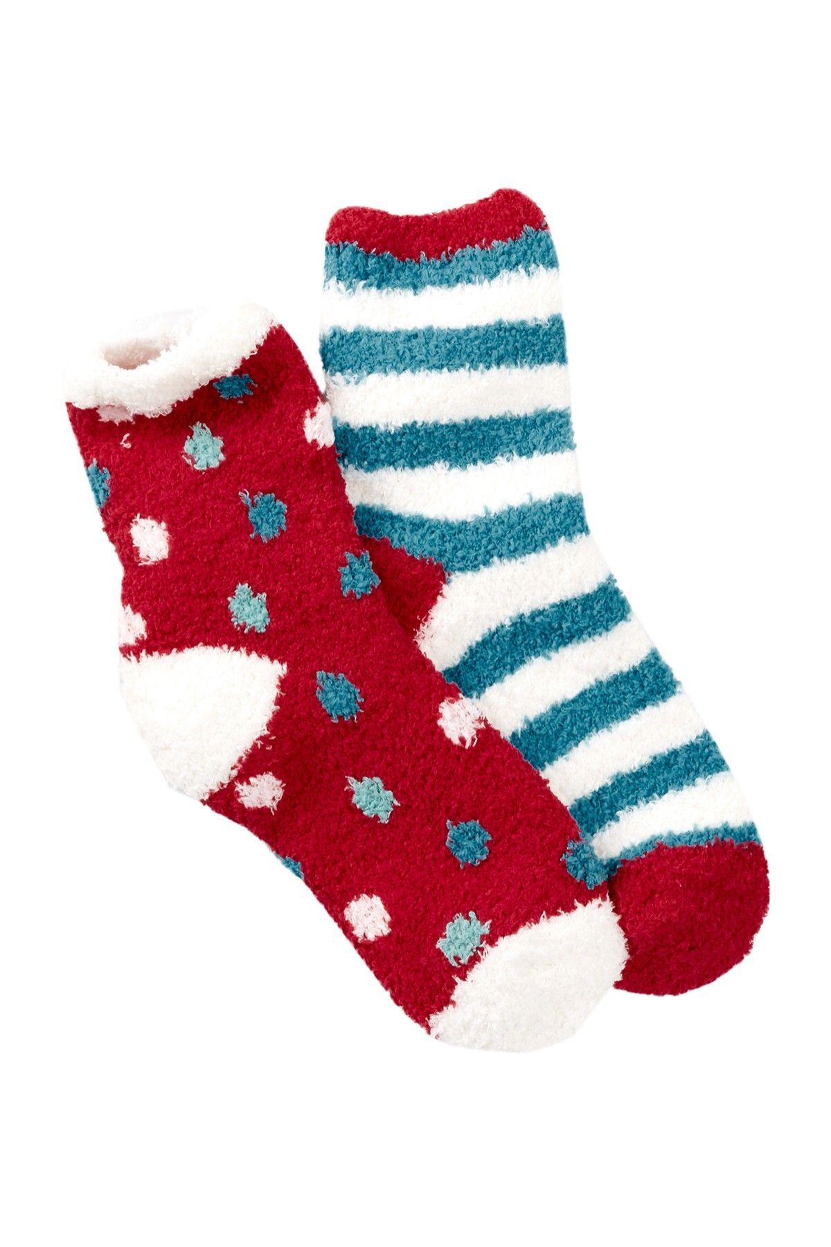 Patterned Fuzzy Socks - Pack of 2 | archives | Pinterest | Socks ...