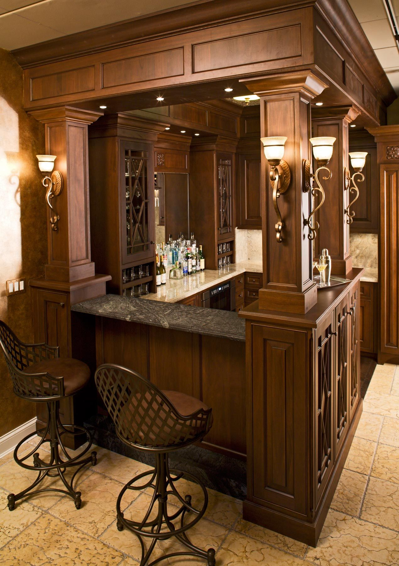 Classic English Bar From Drurydesigns.com (With Images