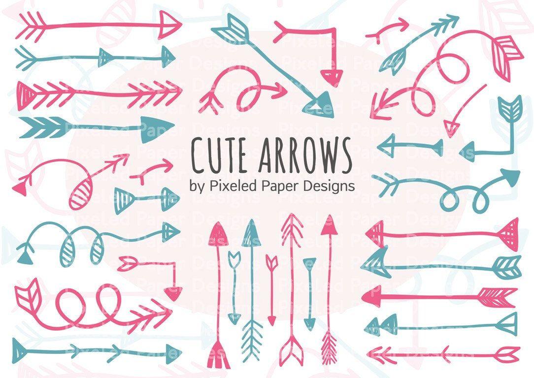 doodle arrow png - Google Search | Clip art, Digital clip ...