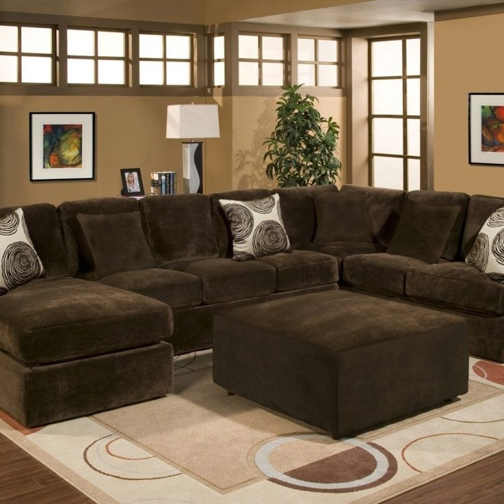 Bradley Sectional Sofa 5 Piece · Brown ...