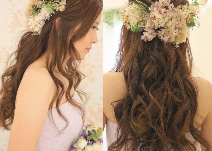 ダウンスタイルは 巻き髪 にこだわるべし おろした髪の毛の 巻き方の