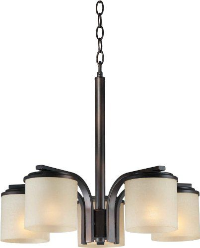 Forte Lighting 2424-05-32  Chandelier with Umber Linen Glass Shades, Antique Bronze Forte Lighting http://www.amazon.com/dp/B00CA3S4C6/ref=cm_sw_r_pi_dp_zUgkvb14GDRJM