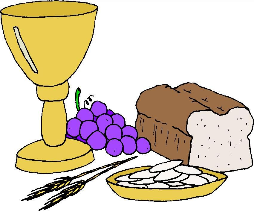 SYMBOL- The Eucharist and the different Sacraments are ...