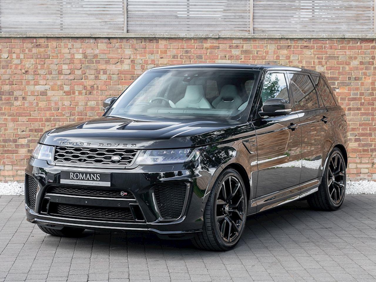 2018 Used Land Rover Range Rover Sport Svr Santorini Black Luxury Cars Range Rover Range Rover Black Range Rover Sport