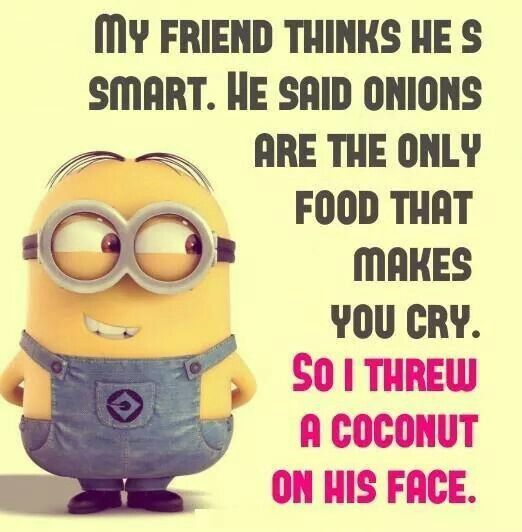 Minion Jokes Pictures, Photos, Images, and Pics for Facebook, Tumblr, Pinterest, and Twitter