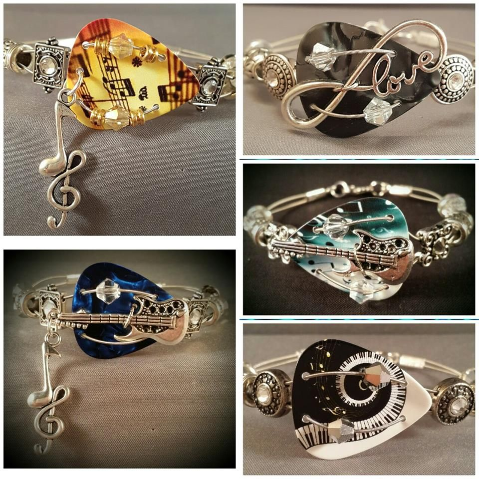 ca2339370 Guitar Pick Jewelry (saw picture on Facebook, are available to purchase  here: https