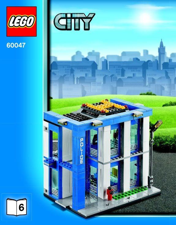 Lego Police Station Instructions 60047 City Lego Police Station Lego City Police Lego