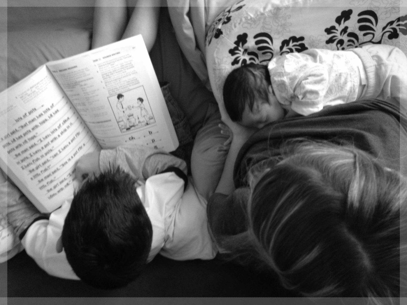 Homeschooling With A Newborn