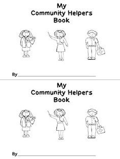 photo relating to Community Helpers Printable Book titled Neighborhood Helpers Printable E-book neighborhood helpers
