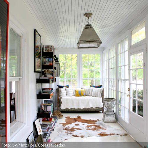 Leseecke im Wintergarten Pinterest Para el hogar, Ideas para y Hogar