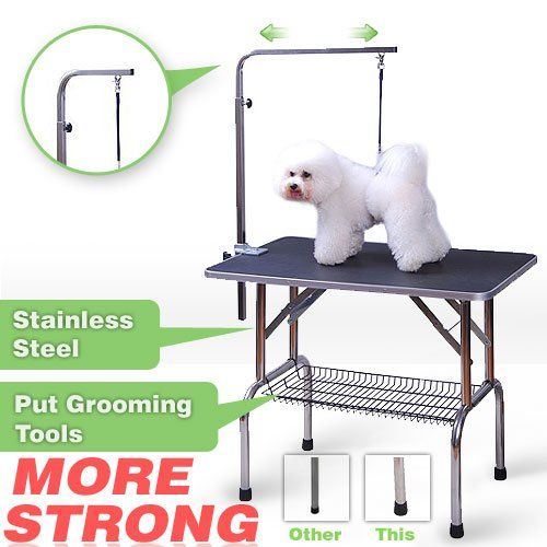Pingkay High Quality 3 Size Pet Dog Cat Profession Dog Show Fold Grooming Table Large You Can Find Out More Det Dog Show Dog Grooming Supplies Dog Grooming