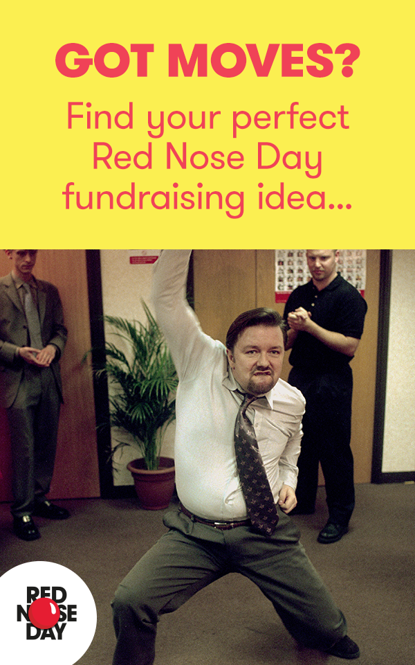 4827c8254 Fundraising in The Office this year for Red Nose Day? Check out these great  simple fundraising ideas.