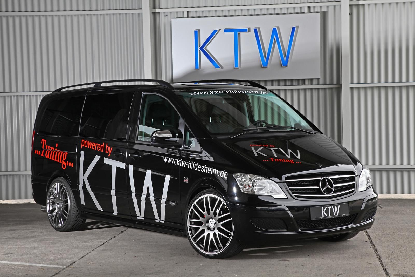 Mercedes Benz Viano By Ktw Tuning