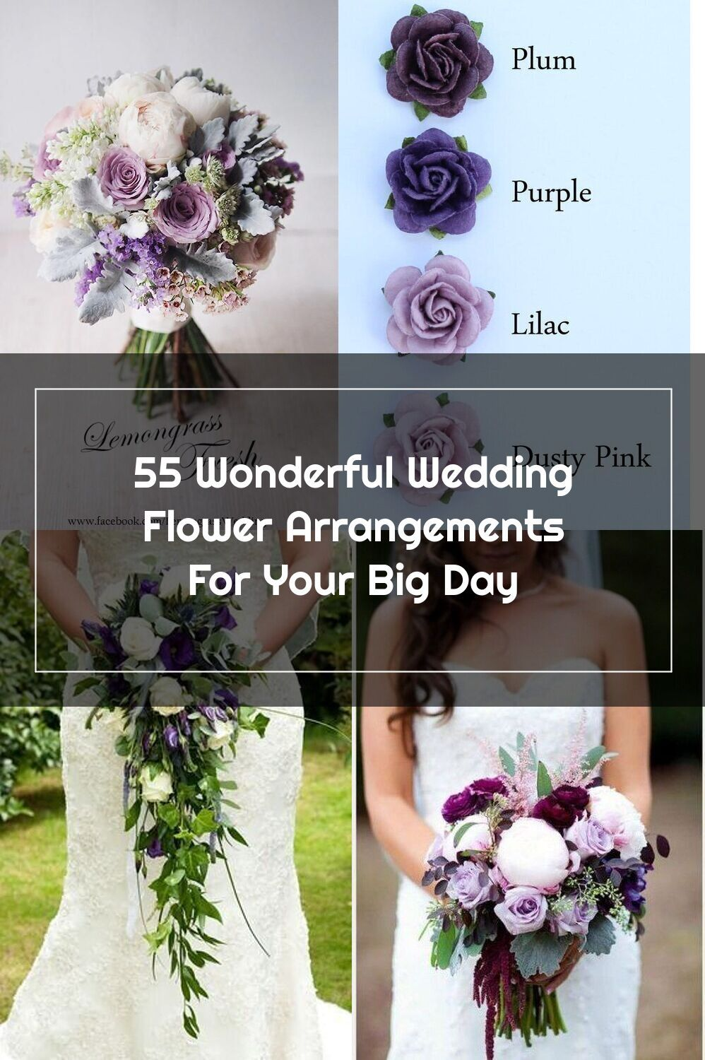 You Re Probably Familiar With Some Of The Most Common Wedding Flower Arrangements In 2020 Pink Flower Arrangements Wedding Flower Arrangements Purple Wedding Flowers