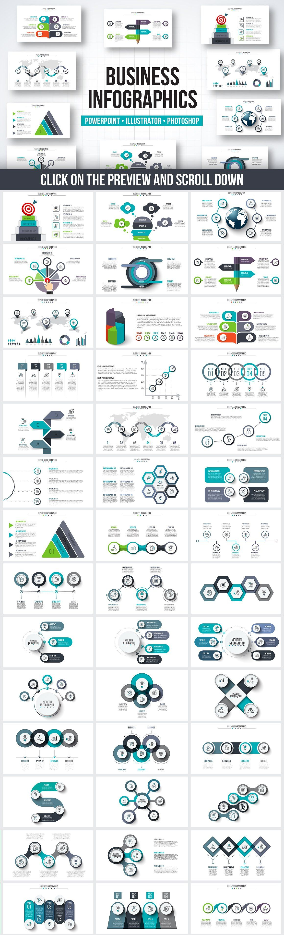 Ppt Infographic Elements Bundle By Abert  Business And Home