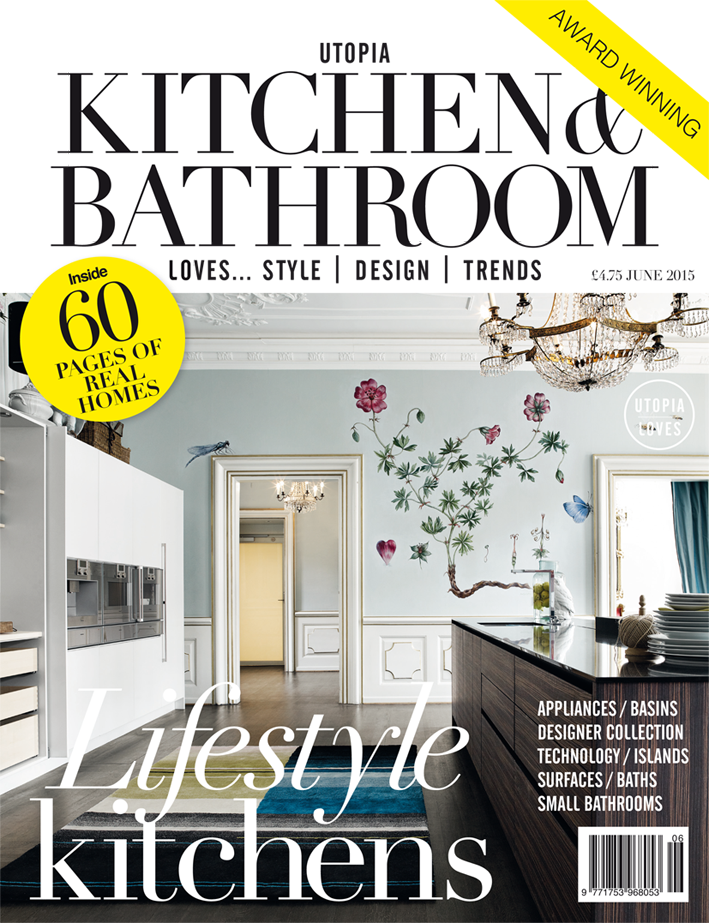 kitchen magazine cheapest wood for cabinets the new june issue of utopia bathroom is on sale now subscribe today at utopiamag co uk