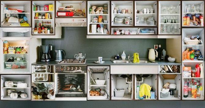 Erik Klein Wolterink   Kitchen Portraits Whatu0027s Inside Your Kitchen  Cupboards?