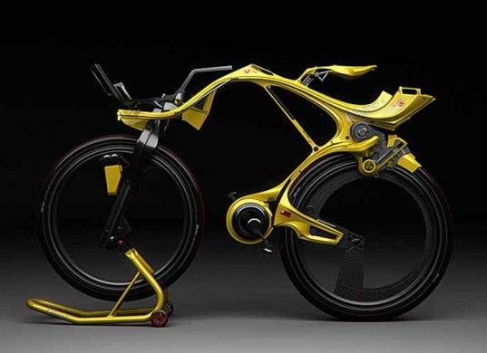 Chainless Ingsoc Hybrid Bike Is Out Of This World Hybrid Bike