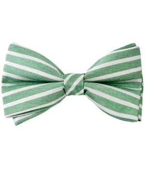 Unity Stripe Apple Green Bow Ties Ties Bow Ties And Pocket Squares The Tie Bar Green Bow Tie Mens Bow Ties Tie