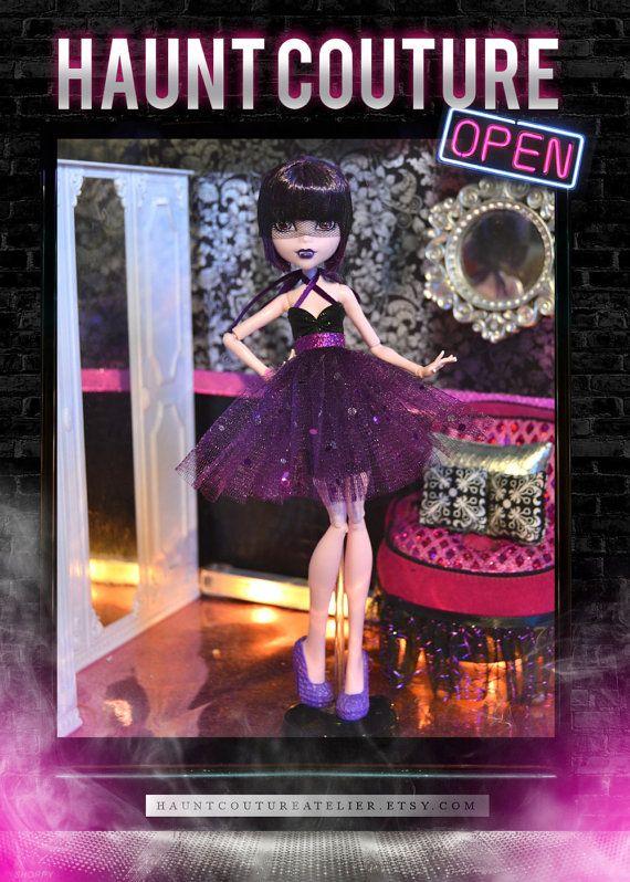 Monster Doll Vampire's Kiss dress by HauntCoutureAtelier on Etsy