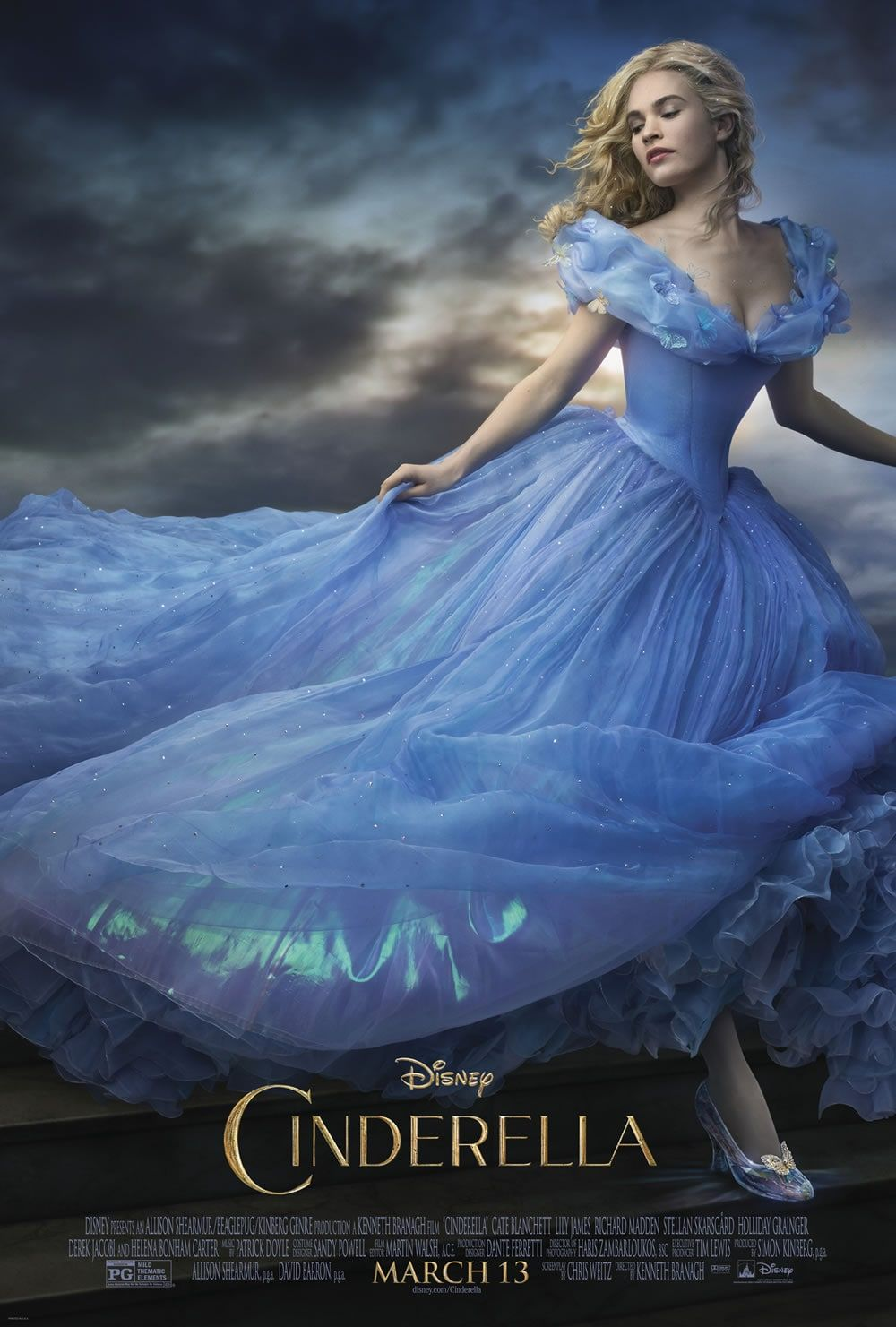 Dreams Come True: New Cinderella Trailer and an Exclusive Interview with Kenneth Branagh   Oh My Disney