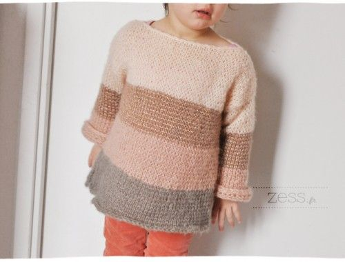 Tricot   le pull Camilla - Zess.fr    Lifestyle . mode . déco . maman . DIY ee1fc0370159