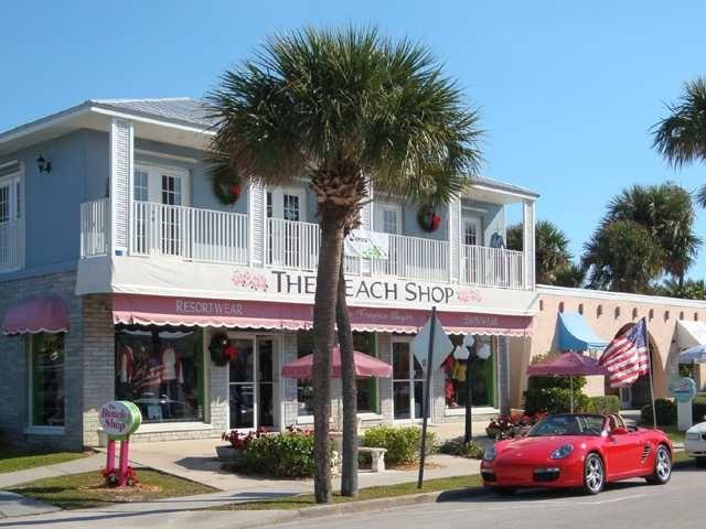 The Beach Shop On Ocean Drive Vero Beach Florida Vero Beach Fl