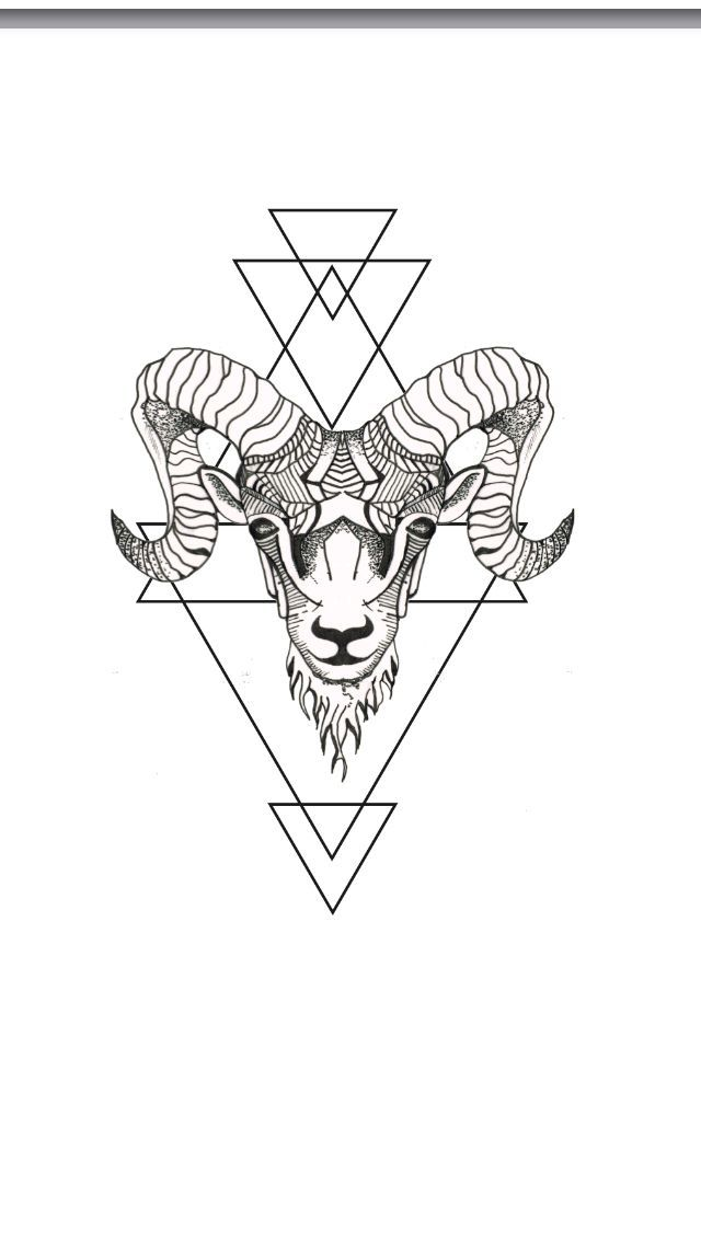 Capricorn element drawings. Image result for geometric