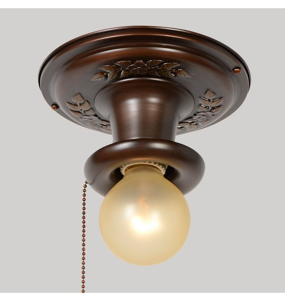 Ceiling Light Fixture Pull Chain Switch