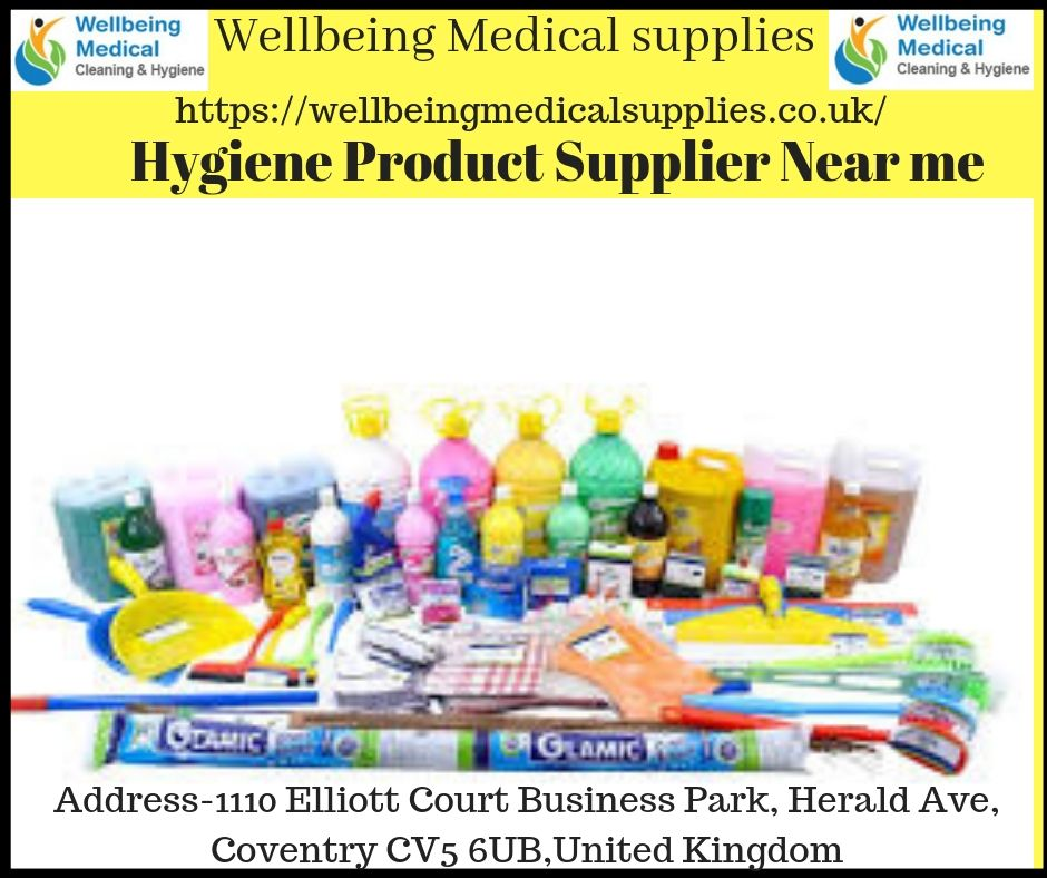 separation shoes 4b986 0d7e3 Wellbeing medical supplies offers high quality medical cleaning   hygiene  products in Birmingham near you.