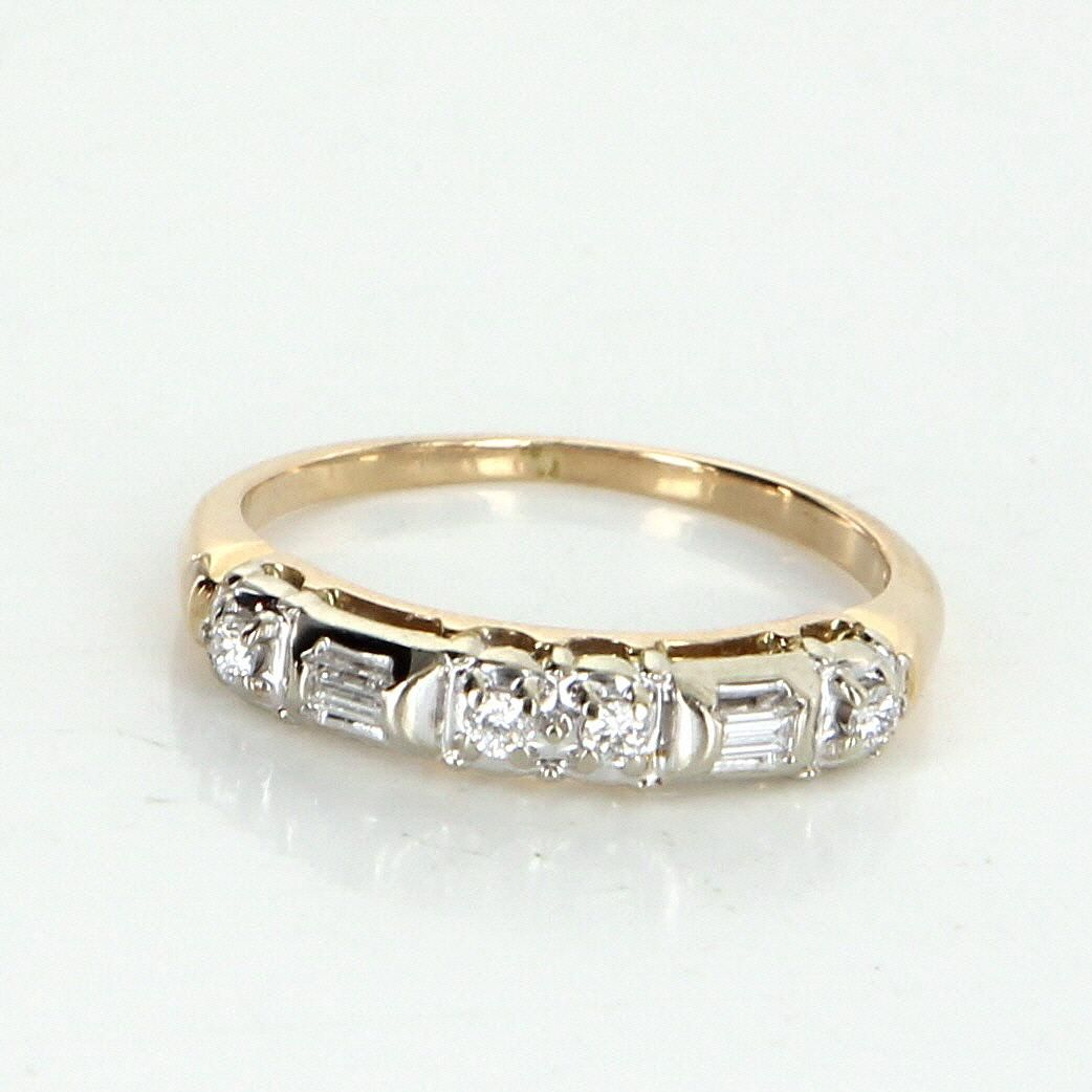 estate oec cut bands vintage european platinum diamond old ring products shop