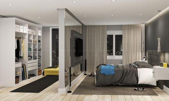 Progettare una cabina armadio con muri in carongesso nel for Progettare una camera da letto