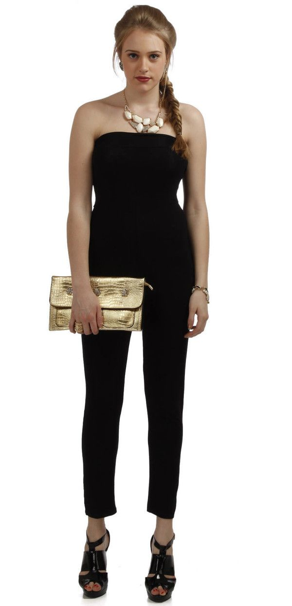 0016234106 Accessorize a Black Tube Jumpsuit - http   poshwomen.com accessorize-