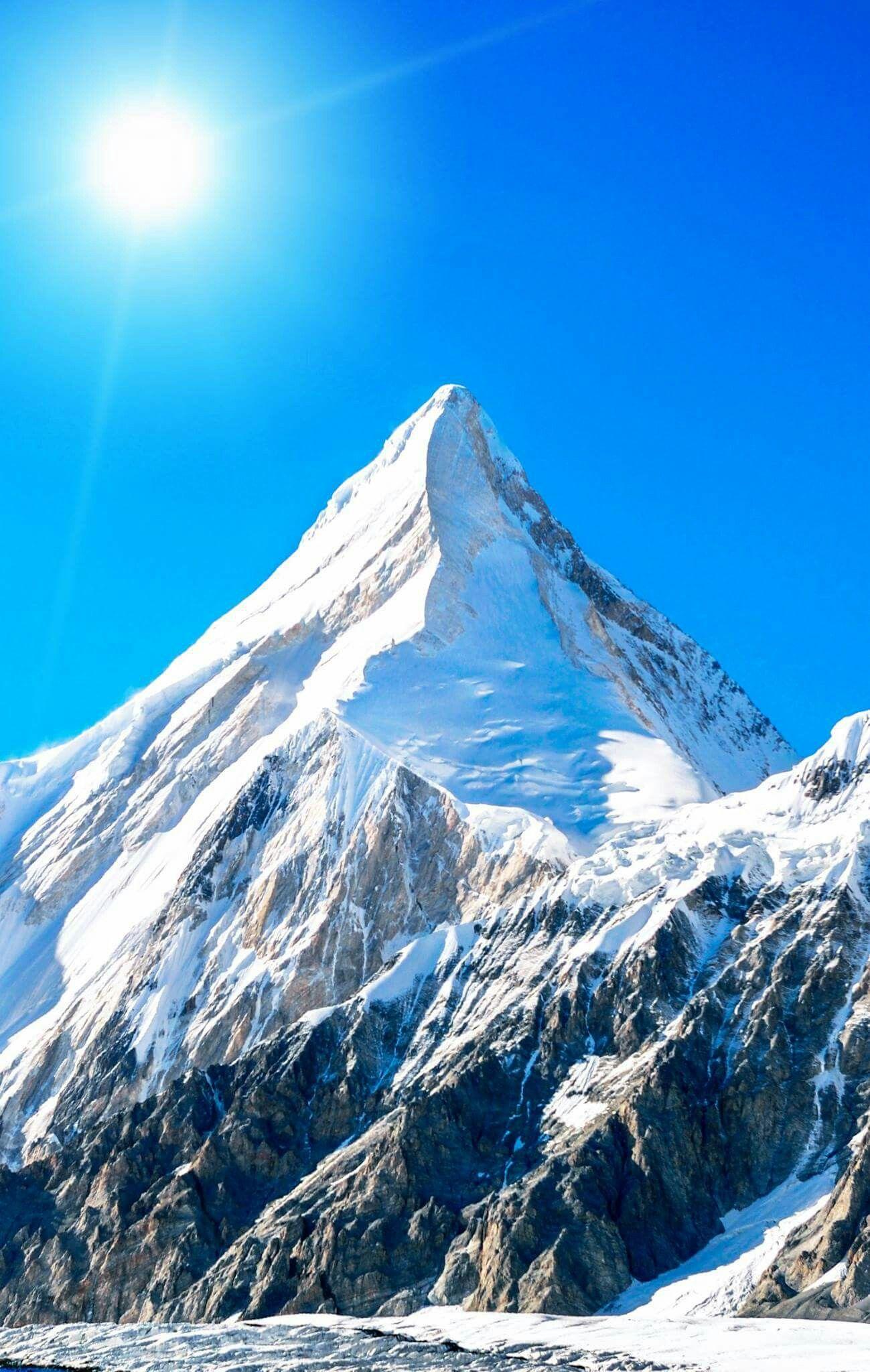 Schönstes land der welt bergen mountain drawing snow mountain