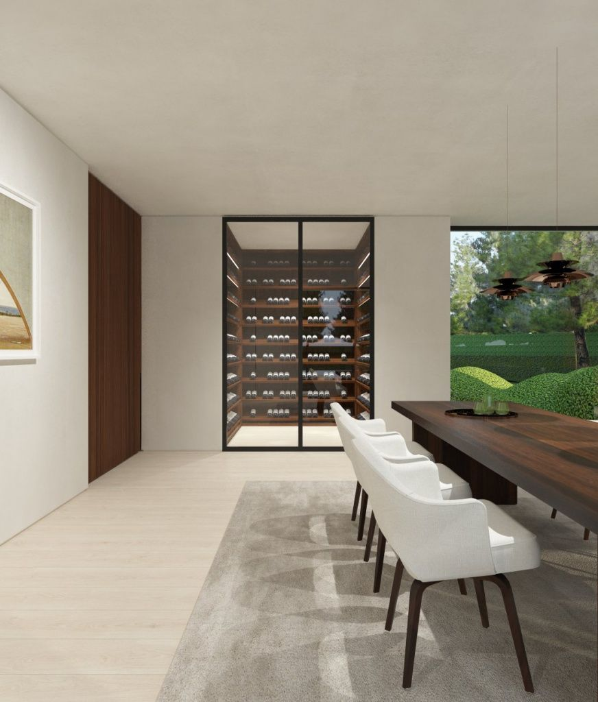Jh House By Dieter Vander Velpen Architects Cave A Vin Cave A