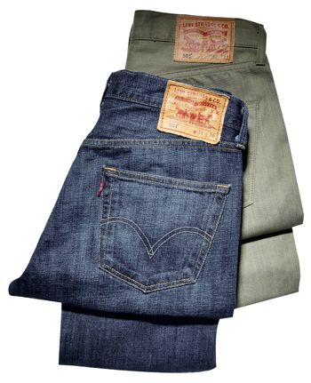 f07a5ec2206 Mode Homme. Espadrilles. The 501 turns 140 years old. Jeans Denim