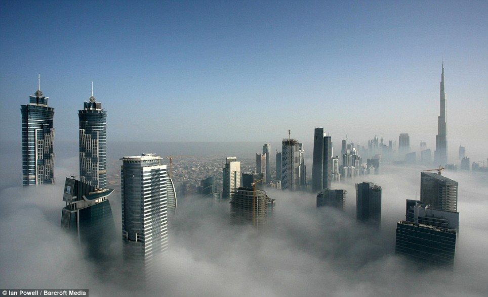the city in the clouds dramatic images of dubai 39 s