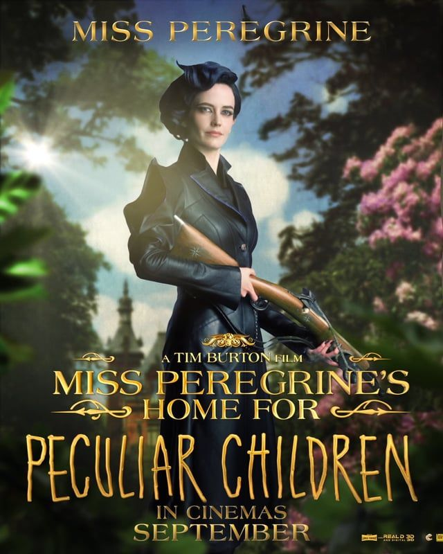 Miss Peregrine S Home For Peculiar Children Motion Poster Miss Peregrine Peculiar Children Home For Peculiar Children Miss Peregrines Home For Peculiar