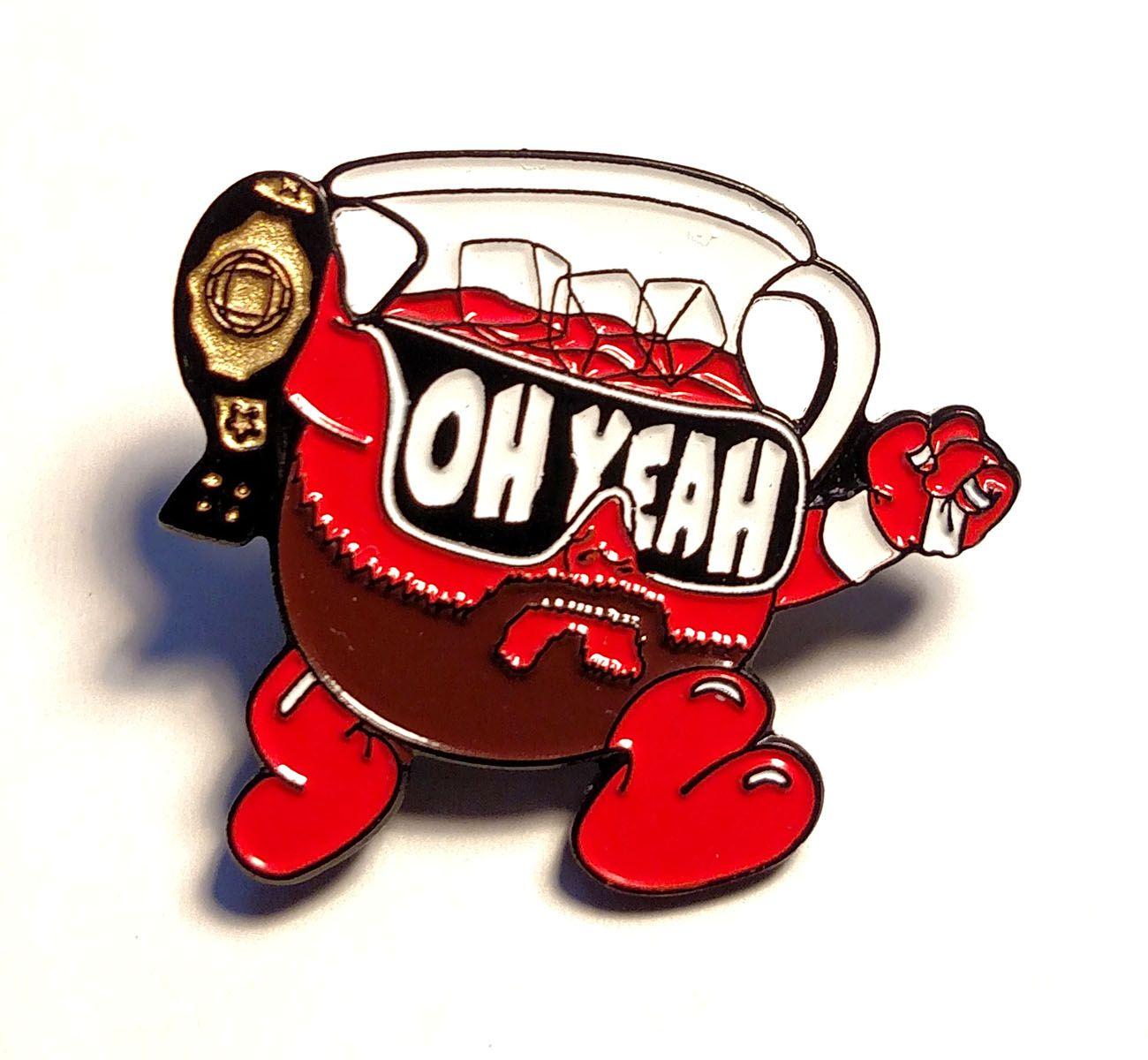 Kool Macho (enamel pin) from BxE Buttons X StaciaMade