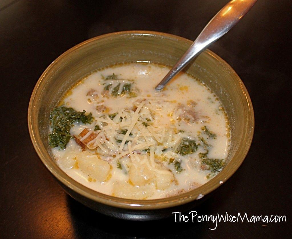 Olive Garden Zuppa Toscana Soup | Recipe | Olive garden zuppa ...