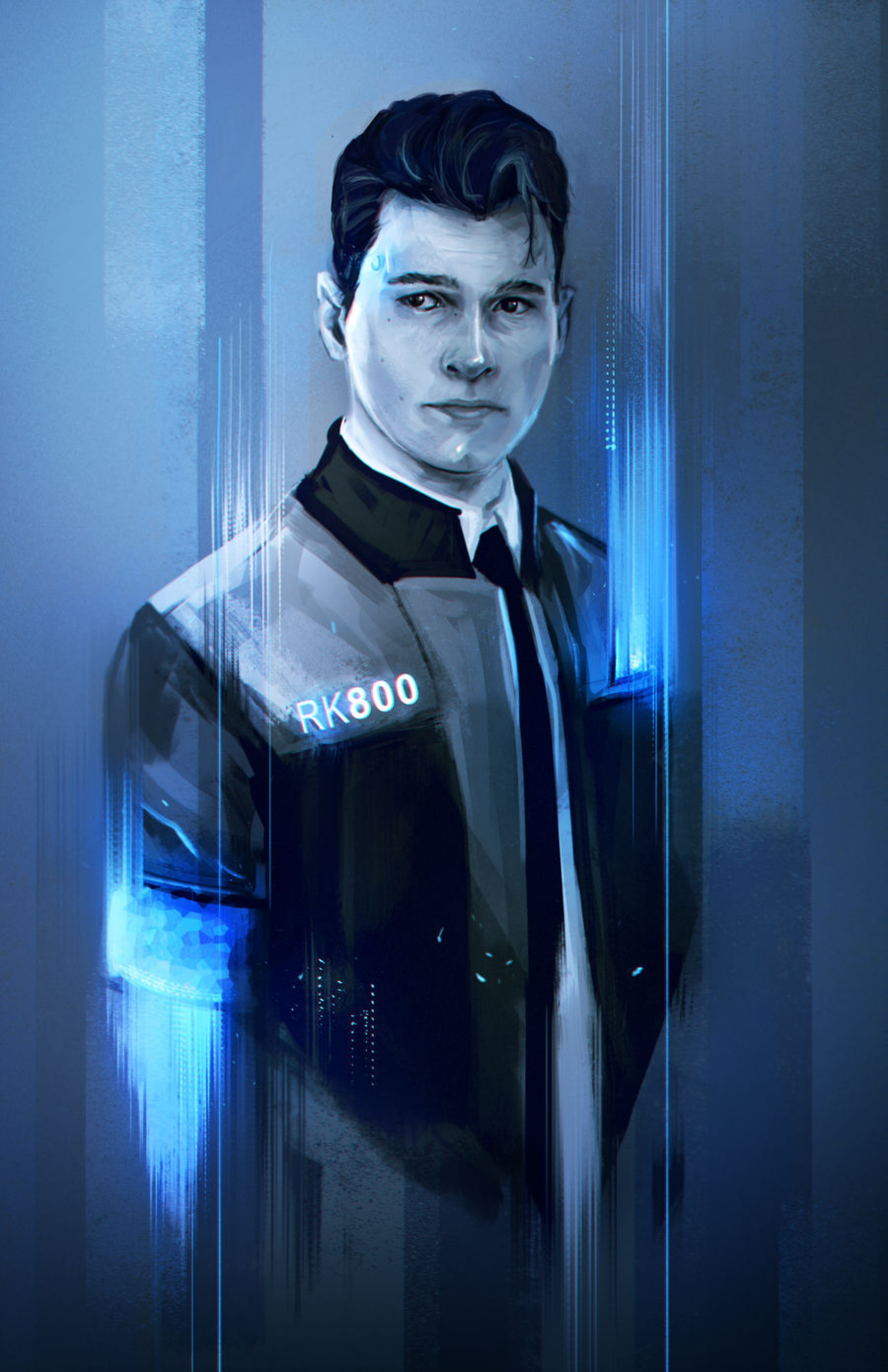 Connor Detroit Become Human By Whereisnovember On Deviantart