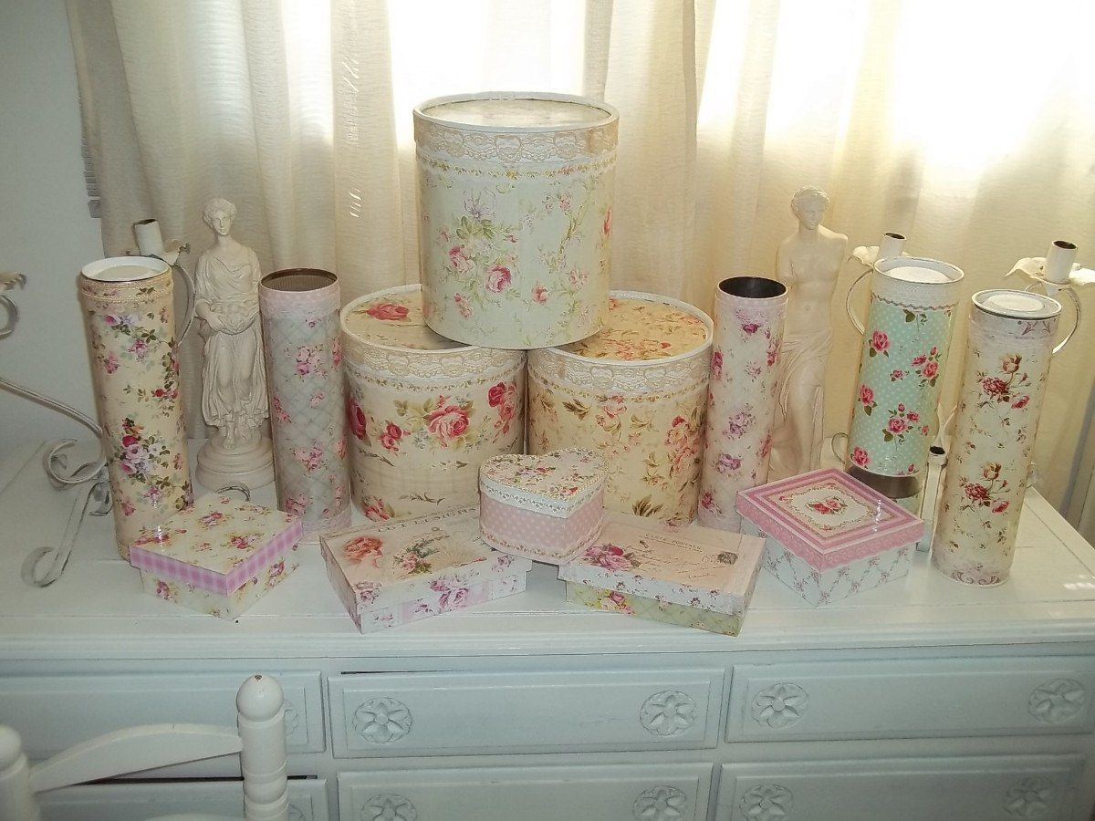 cajas-victorianas-shabby-chic-decoracion-antiguo--4906 ...