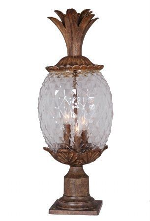 Awesome Mariana Home 610323 Pineapple Outdoor Post Lamp Post Mount Lighting Lamp Pineapple Lights