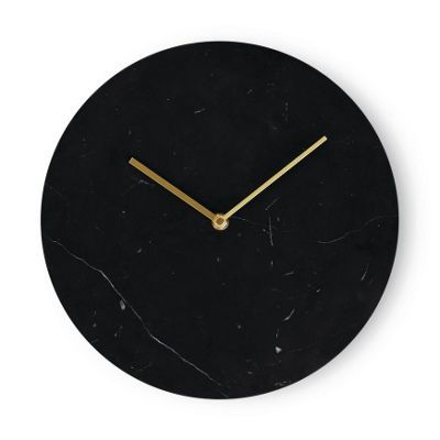 Norm Marble Wall Clock   Things: Wall Decor   Pinterest   Marble ...