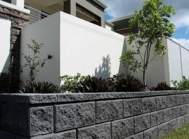 Image Result For Allan Block Charcoal Retaining Wall Retaining