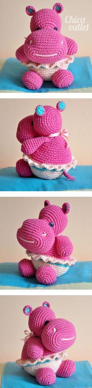 Patron gratis - Hipo - Chica outlet   crochet de todo un poco ...