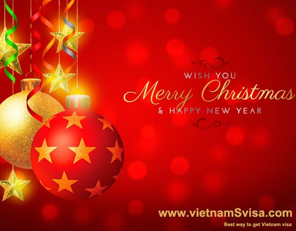 Vietnamsvisa Com Merry Christmas To All Clients Happy Merry Christmas Wish You Merry Christmas Merry Christmas Pictures