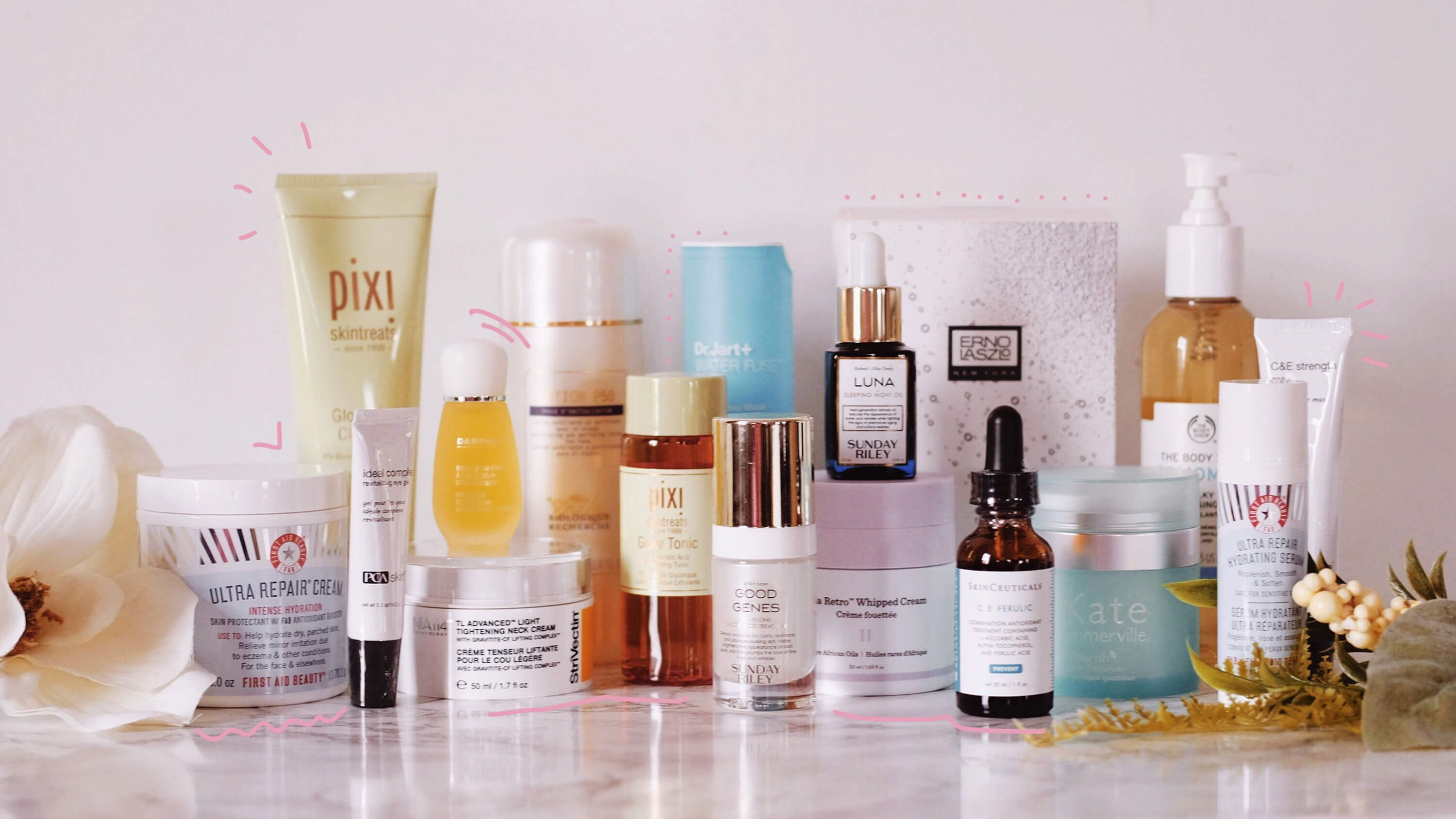 My Top 17 Best Skin Care Products 2018 | Beauty | Good skin