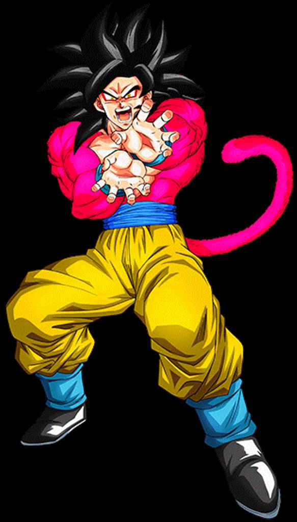 Goku Ssj 4 Personajes De Dragon Ball Personajes De Goku Dibujo De Goku