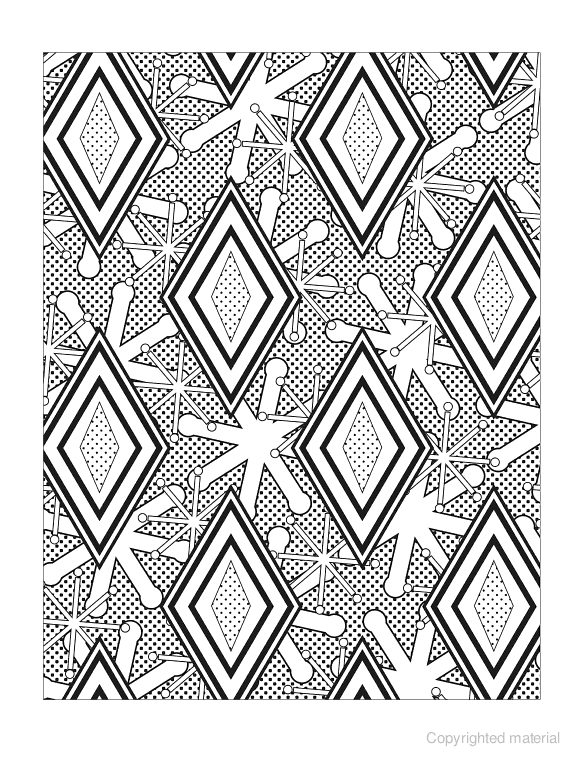 Creative Haven Graphic Art Designs Coloring Book | Color Pages ...